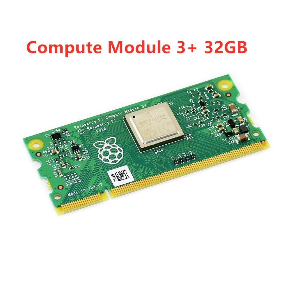 Compute Module 3+/32GB (CM3+/32GB), Raspberry Pi 3 Model B+ In A Flexible Form Factor, With 32GB EMMC Flash