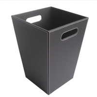 Household Square Trash Bin Practical Rubbish Bins Dustbin Home Cleaning Accessories Office Supplies Waste storage container