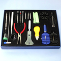 Professional 20 Pcs Watch Repair Tool Kit Set With Bag Link Pin Remover/ Case Opener/Watch Hand Remover Hot Selling WT07
