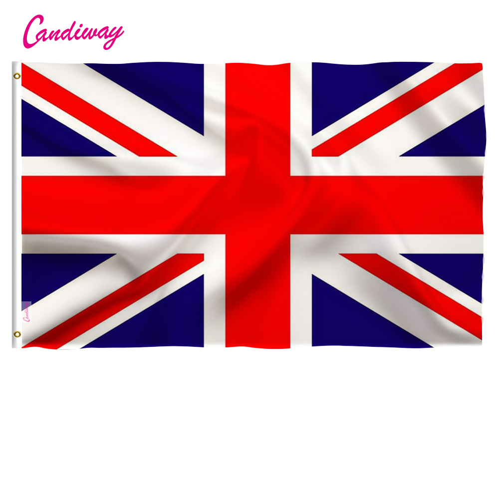UK flags 2x3Feet England country State Flag United Kingdom National Brand flag great Britain Indoor Outdoor Flag Pennants