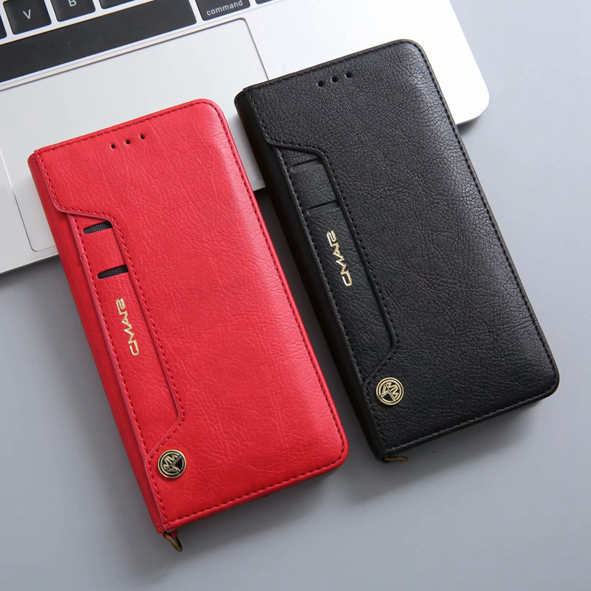 for huawei P20 lite leather case (1)