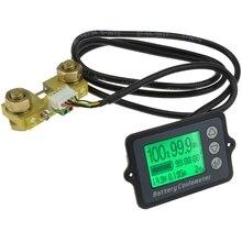 1 pces tk15 dc 8v 80v 100a bateria coulometer precisão profissional testador de bateria do veículo monitor de exibição de quantidade elétrica