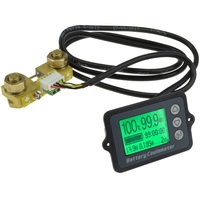 1Pcs Tk15 Dc 8V 80V 100A Battery Coulometer Professional Precision Vehicle Battery Tester Electric Quantity Display Monitor