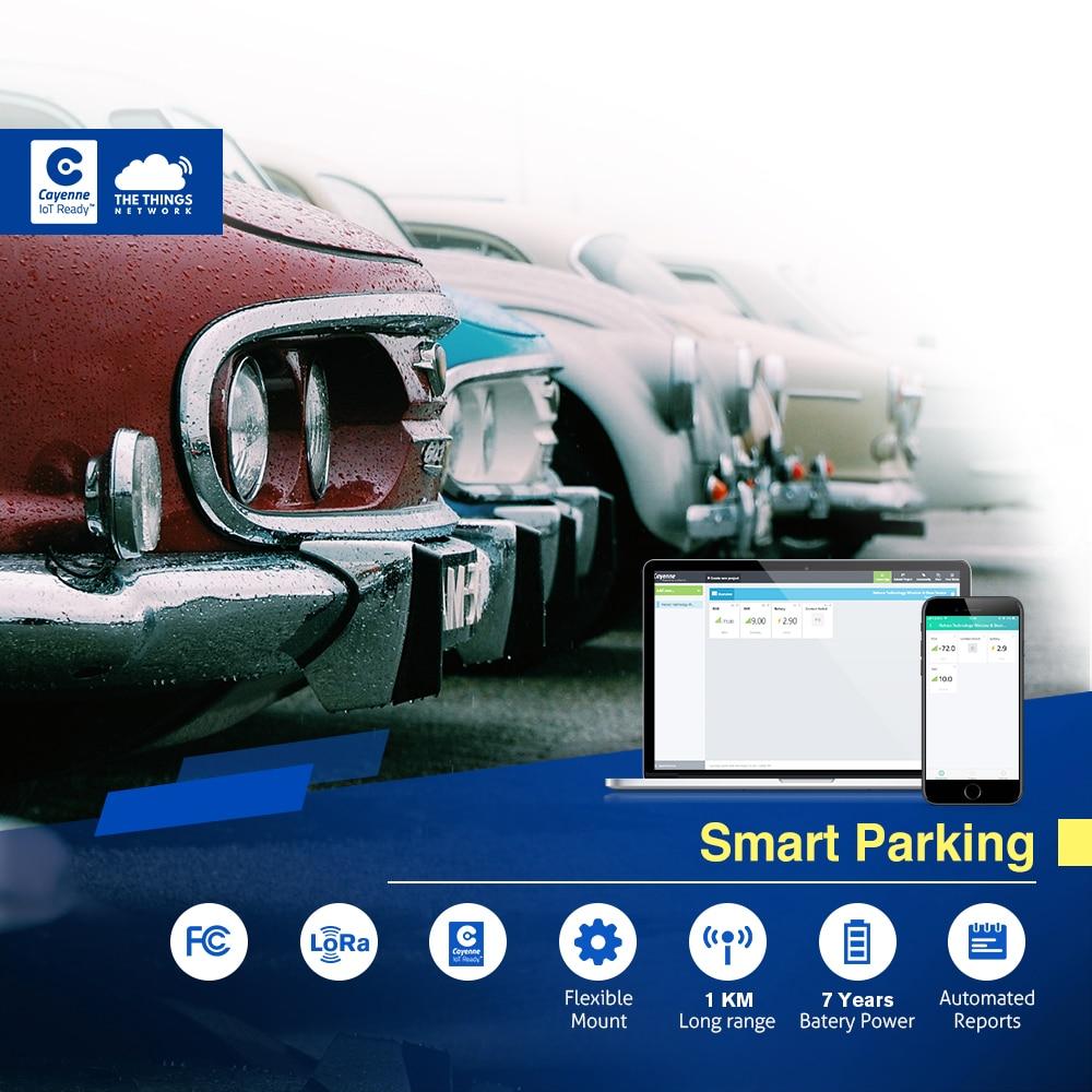 Solution IoT kit d'entreprise LoRaWan parking intelligent porte pilote LoRa avec Raspberry Pi 433/868/915/AS923 dans TTN & My