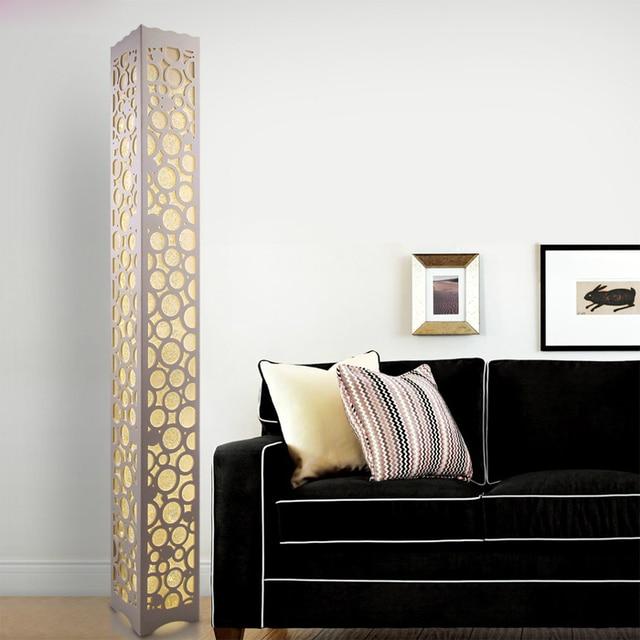 floor lamps in bedroom on modern led wooden floor lamp bedroom wood carved lighting n003