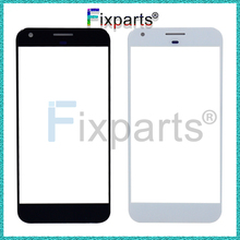 For HTC Google Pixel 5.0 / XL 5.5 Front Touch Panel Outer Screen Glass Lens Cover
