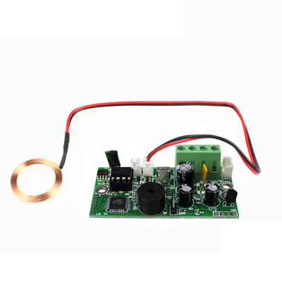 RFID embedded control board for small electric locks mini access control board relay output цена