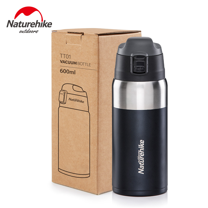 Naturehike Double Wall 316 Stainless Steel Vacuum Flasks 600ml Thermos Adult student sports cup Thermo Bottle Thermocup|Sports Bottles| |  - title=