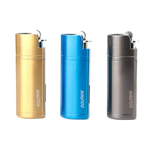 Image 2 - Torch Cigar Lighter Triple Fire Jet Butane Metal Welding Turbo Gas Flint Lighter 1300 Outdoor Powerful Windproof Pipe Spray Gun