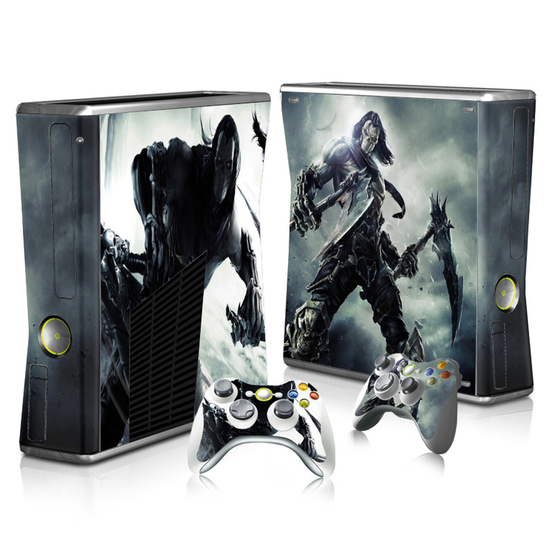 Hot Selling Vinyl Skin For Xbox 360 Slim Console Decal Skin Sticker For Xbox 360 slim TN-XB360 SLIM-3334 image