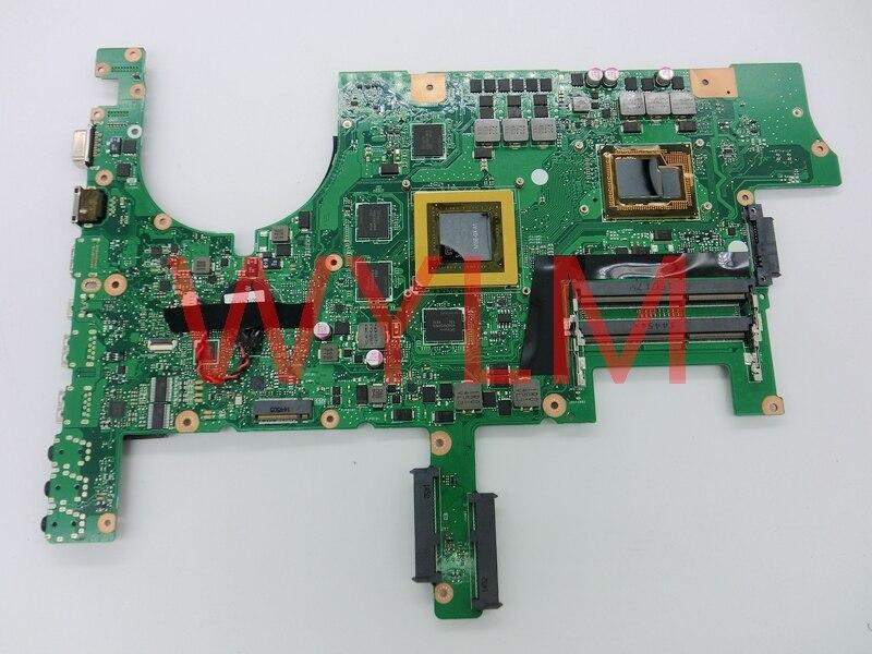 free shipping G751JY GTX980M N16E-GX-A1 with i7-4870 cpu mainboard REV 2.0 For ASUS G751J G751JY Laptop motherboard 100% Tested