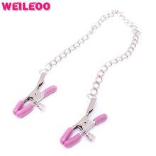 metal nipple clamps chain slave bdsm sex toys for couples fetish sex toys bdsm bondage restraints erotic toys adult games