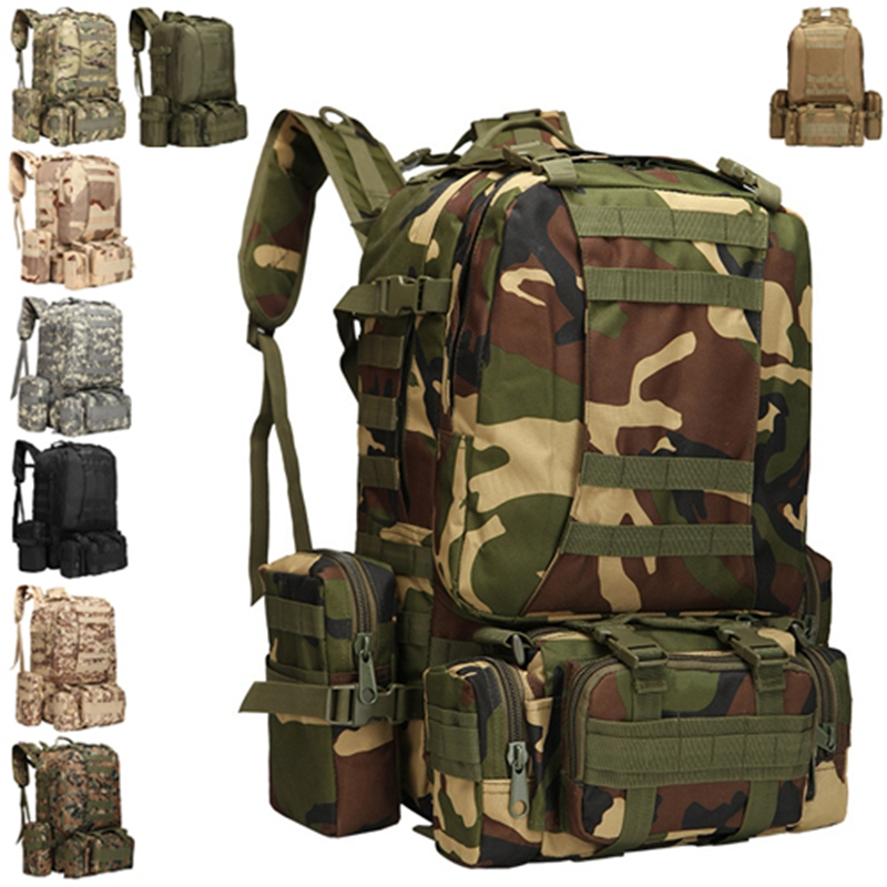 Tactical Outdoor MOLLE Webbings Backpack Military Tactical Backpacks Hiking Camping Camouflage Backpack Climbing Bags 35l waterproof tactical backpack military multifunction high capacity hike camouflage travel backpack mochila molle system