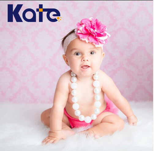 Kate Children Backdrops Photography Pink Wooden Floor Pink Flowers  Background For Photographing Newborn Birthday Backdrop