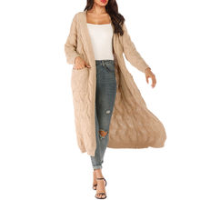 SAGACE Casual Women Knitting Parka Open Cape Cardigan Long Sleeve Loose Coat Tops Ladies High Quality Overcoat Clothes Tops(China)