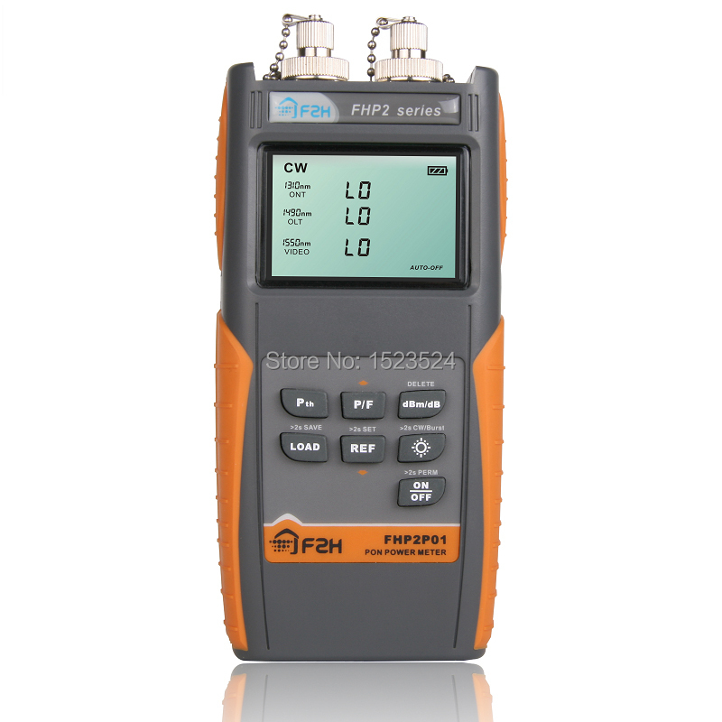 FHP2P01 Grandway PON Optical Power Meter For EPON GPON XPON, OLT-ONU 1310/1490/1550nm