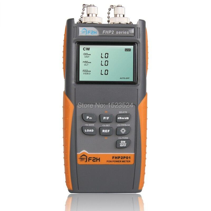 bilder für FHP2P01 Grandway PON Optisches Leistungsmessgerät für EPON GPON xPON, OLT-ONU 1310/1490/1550nm