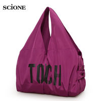 Waterproof Holdall Outdoor Handbag Gym Bag Yoga Bags Sports Bags Sport Women Fitness Shoulder Pack Mummy