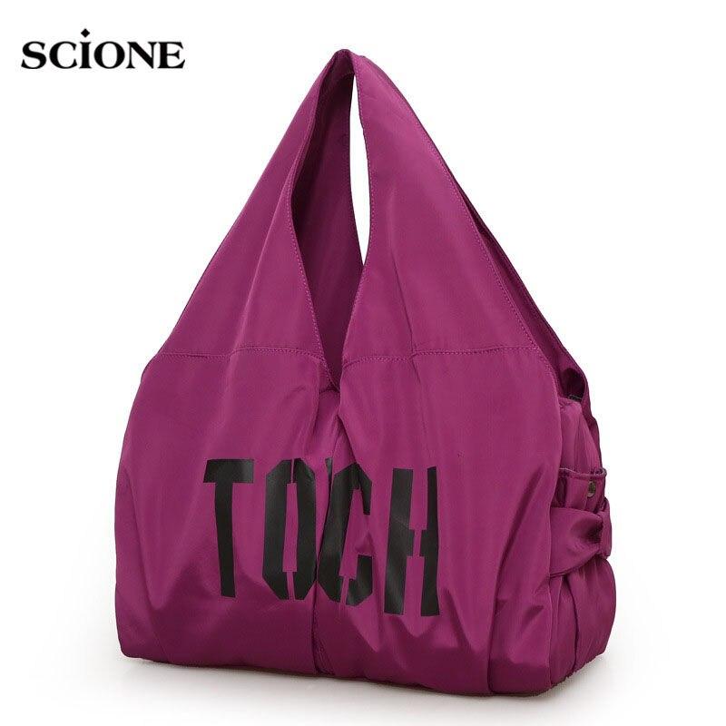 Водонепроницаемый сумка Открытый Сумки Gym bag Сумки для йоги Спортивные сумки спортивные Для женщин Фитнес плечо пакет мумия путешествия Сумки xa306wa
