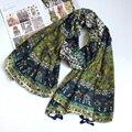 Women Cotton Scarf Ethnic BOHO Scarves Ancient Tassels Shawl Blanket Winter Scarf NEW [0222]