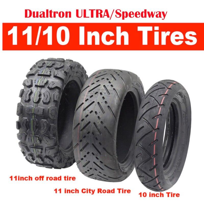 Aufblasbare Dualtron Ultra Rollerreifen 90/65-6,5 11 Zoll Off Stadtstraße CST Reifen Speedway Roller 10*2,5 reifen Innenrohr Reifen
