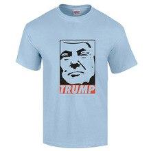 2016 Men Cotton Trump T-shirt Fashion Men's O Neck Donald Trump Shirt T shirt Trump For President Clothes For Men