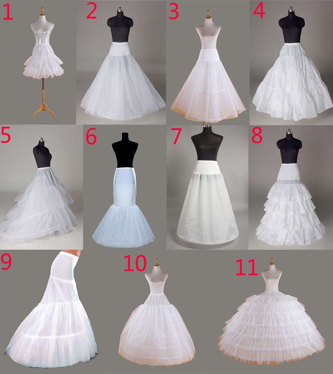Petticoat Crinoline Hoop Underskirt Wedding Petticoat Fishtail Mermaid Prom