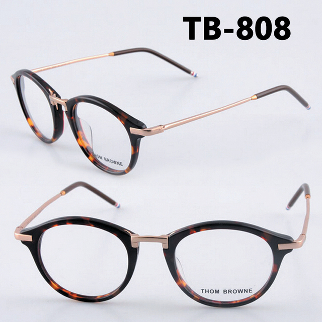 013dab804875 THOM BROWNE TB-808 reading eyeglasses men and women top quality myopia eye  glasses frames TB808C