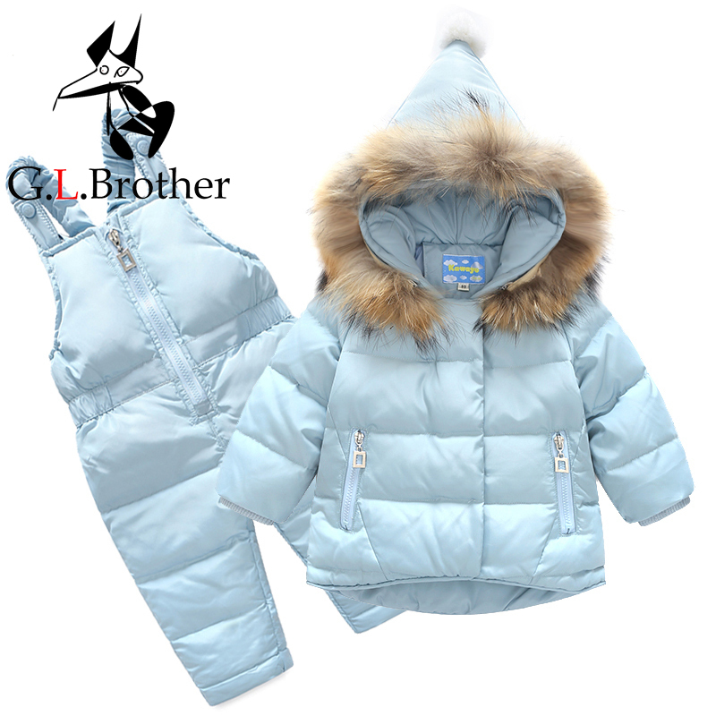 06bd41f13262 Aliexpress.com   Buy New Winter Kids Snowsuit Baby Boys Ski Suit ...
