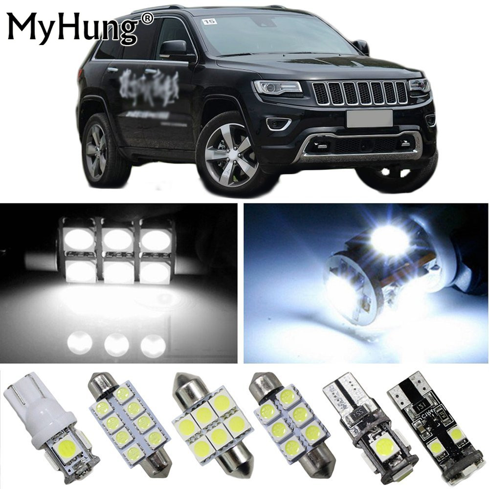 For Jeep Compass Patriot Grand Cherokee Wrangler Car Led