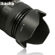 Hot 52 55 58 62 67 72 77mm Lens Hood Reversible Petal Flower DSIR for Canon Nikon Sony Pentax Camera Free Shipping Universal