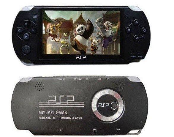 FREE shipping 8GB 4.3 inch Video Game Console Player 1.3 M Camera MP3 MP4 MP5