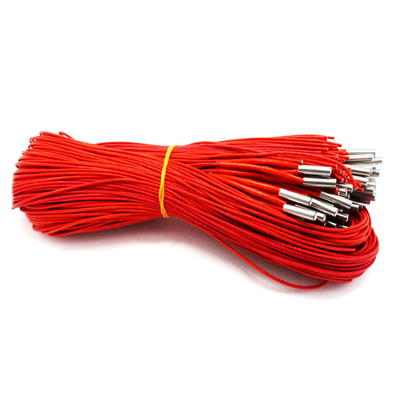 12V 40W Ceramic Cartridge Heater 6mmx20mm For Extruder 3D Printers Parts Heating Tube Heat 12V40W 1M Extrusion Part