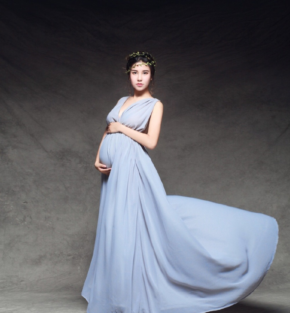 Brand Royal Style Maternity Photography Props Long Dress For Photo Shoot Clothes for Pregnant Women Fancy Pregnancy zl644  rq elegant maternity dress photography props long dress pregnant women clothes fancy pregnancy photo props shoot q83