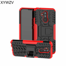 Huawei Mate 20 Lite Case Shockproof Hard PC & Silicone Phone For Cover Shell Fundas