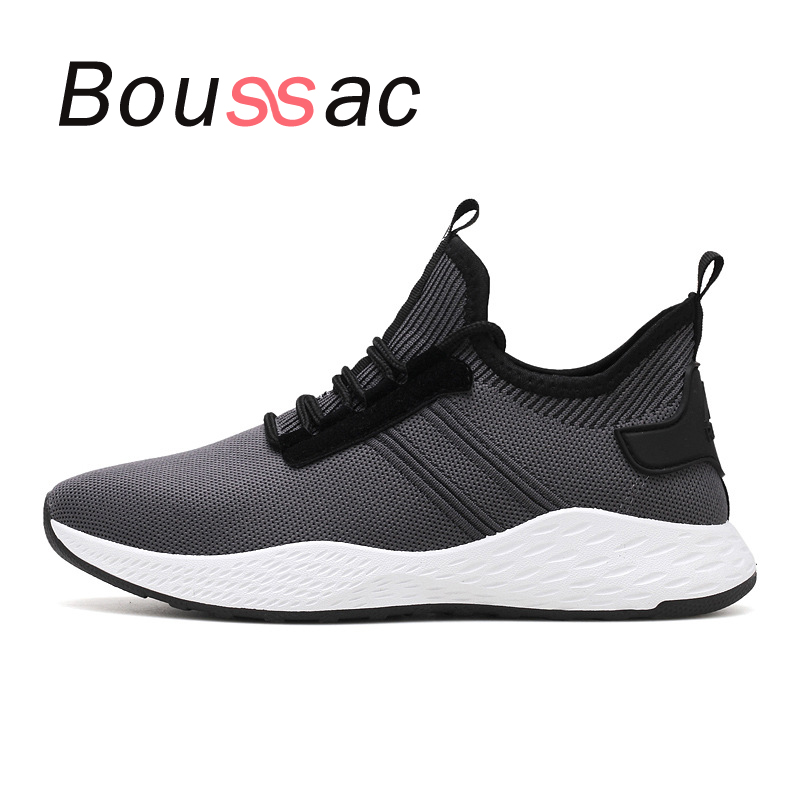 comfortable lightweight sneaker air cushion knit shoes slow shock sneaker 2018new autumn winter outdoor men   shoes