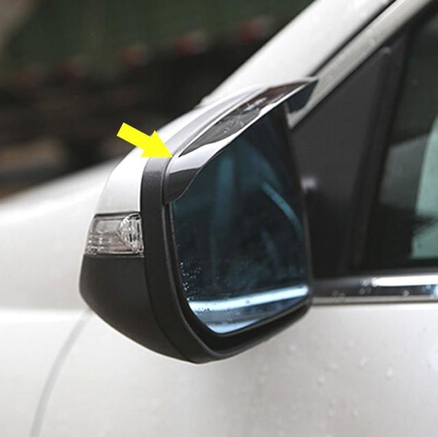 Car Accessories For Chevrolet Malibu 2017 2016 2017rear View Mirror Rain Guard Visor Visors Shield Side