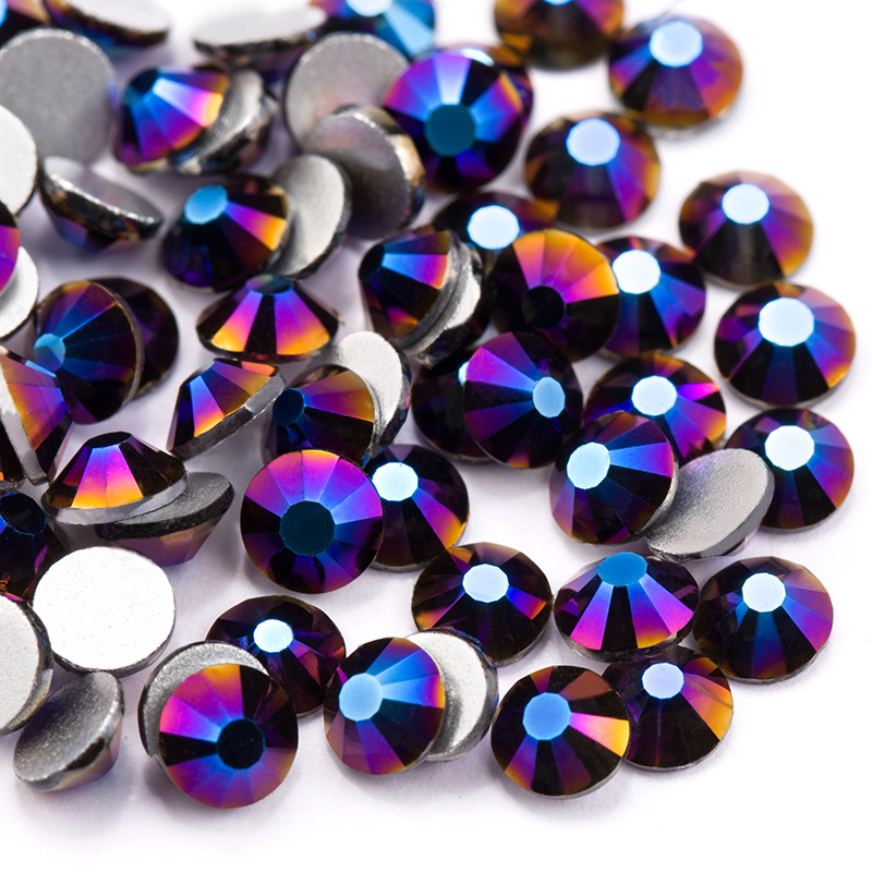 Detail Feedback Questions about Retro blue(288 1440pcs) pack Color  Rhinestone for Nail Art Flat back Non Hotfix Glue on Rhinestones a062eaa11cad