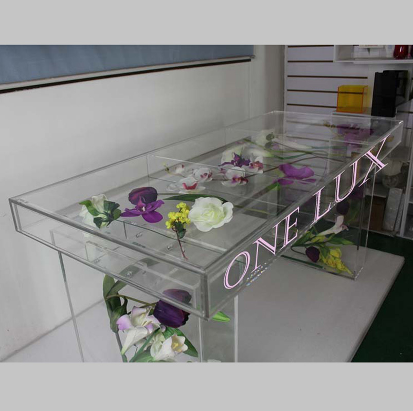 Купить с кэшбэком (KD packing)High Tansparency Acrylic Bridal Table,Event Console Desk Perfect for wedding