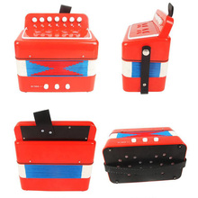 2017 New Mini Accordion Music Stage Performance Music Toys Baby Accordion Instruments Gift Children's Toys