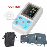 FDA Arm Ambulatory Blood Pressure Monitor 24hours NIBP Holter CONTEC ABPM50+ Adult,Child ,Large ,3 Cuffs, Free PC Software