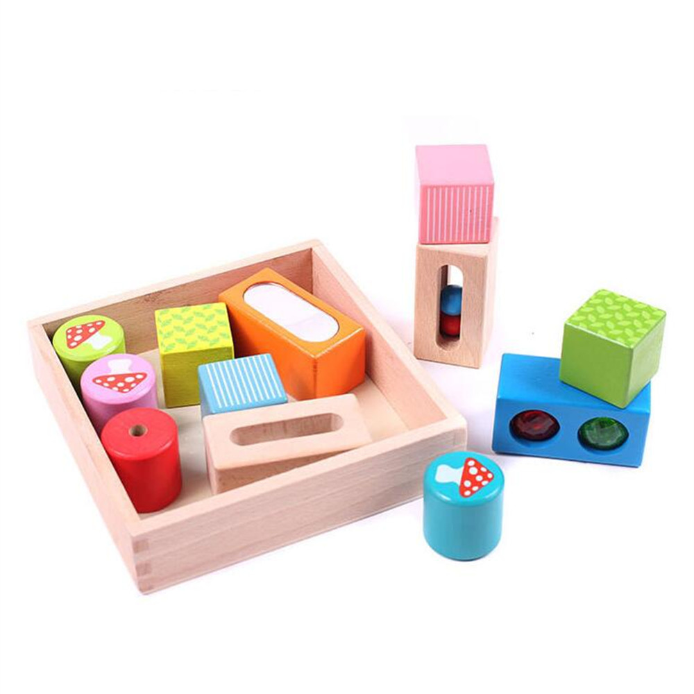 Aocoren Children Designer Construction Toys Assembly Building Blocks Toys Kids Educational DIY Wooden Technic Bricks
