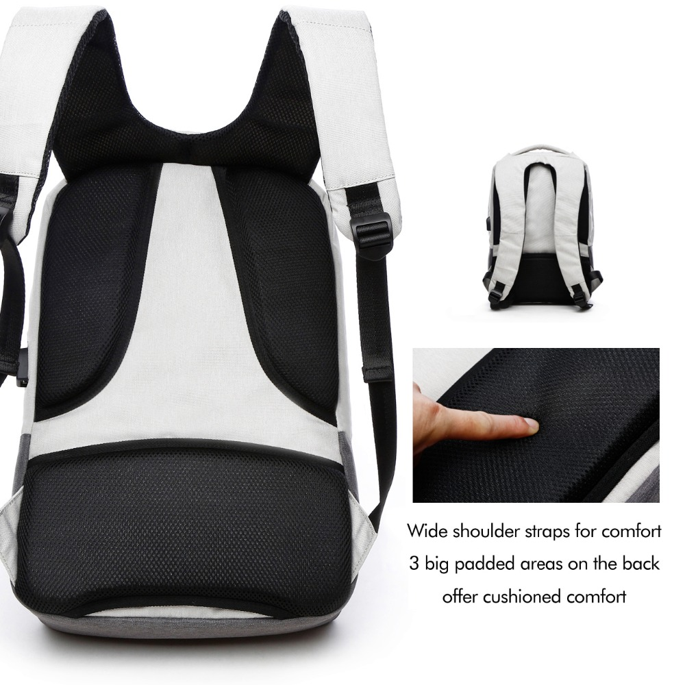 polegada de computador notebook mochila Backpack Usage : Daily Backpack/school Bag/school Backpack/bookbag