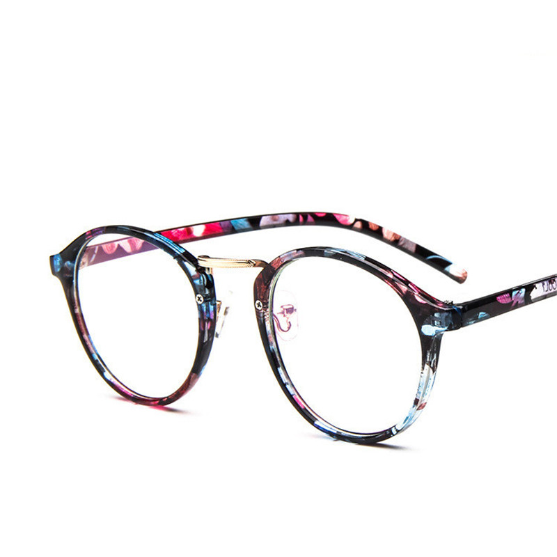 2018 Retro Optical Glasses Frame Women Men Glasses Frames Leopard ...