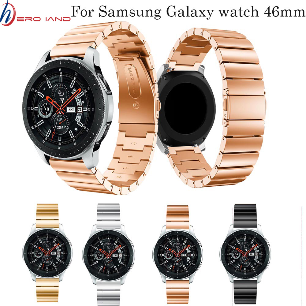 Watchbands 22mm Strap Band For Samsung Gear S3 Classic Frontier Galaxy 46mm Replacement Band For Huami Amazfit Stratos 2/2S belt