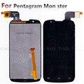 Display LCD + Digitador Da Tela de Toque Do Painel de Vidro Para p430 Pentagrama Monstro P430-1 Mon ster 1