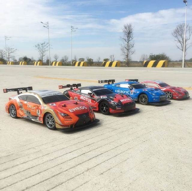 RC Car  4WD Drift Racing Car Championship 2.4G Off Road Rockstar Radio Remote Control Vehicle Electronic Hobby Toys 4