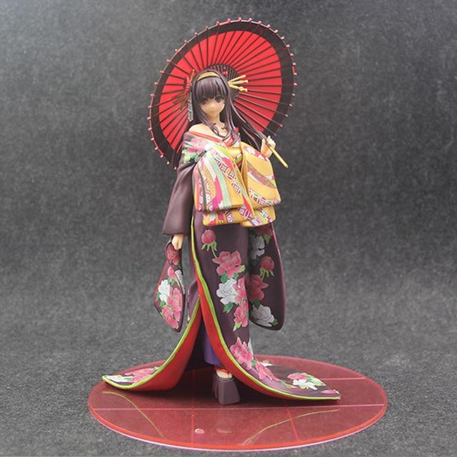 Saenai Heroine No Sodatekata Action Figure Kimono Ver. 1/7 scale Figure Model Collection Gifts no retail box (Chinese Version) 1