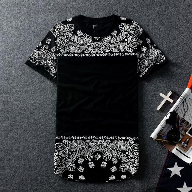 Men's Bandana Printed Long Sleeve T Shirt Round Neck Urban Wear. from $ 14 99 Prime. 3 out of 5 stars 4. tees geek. California Republic Bandana Palm Men's T-Shirt. from $ 5 00 Prime. out of 5 stars 7. Bozzolo. american bazi Bandana print top $ 10 out of 5 stars 4. Girlie Girl Originals. Paisley Bandana Cow Sport Grey Short Sleeve Tee.
