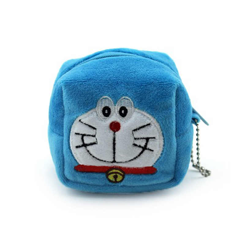 b79a7512c1 ... 8cm Cartoon Cube Totoro Kitty Children Zipper Coin Bags Women Mini  Storage Pouch Grils Cute Wallets ...